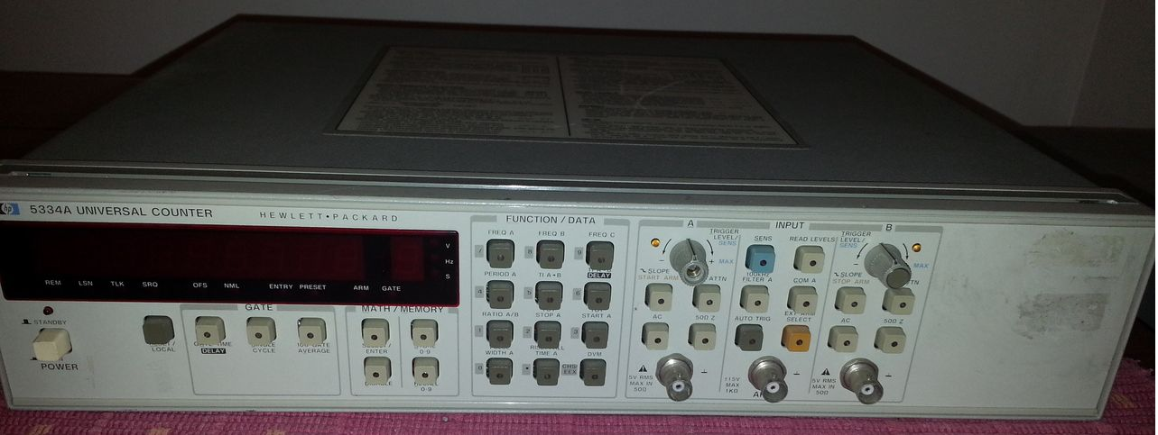 My HP5334A Universal Counter