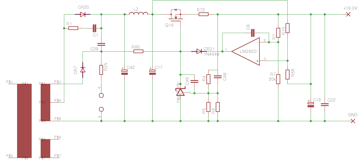 part of the schemtic of the PSU